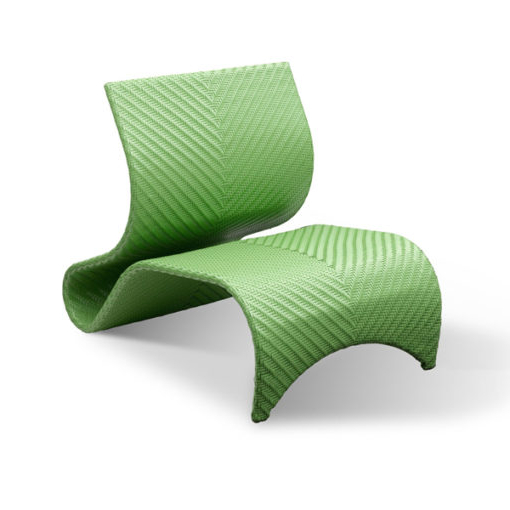 outdoor abstract modern chair