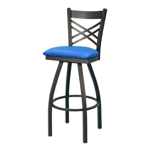 custom commercial metal bar stools