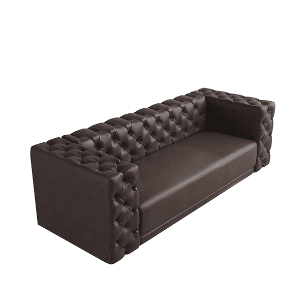 diamond tufted sofa