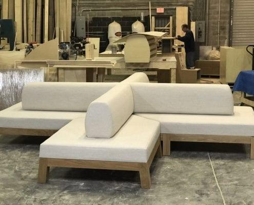 commercial custom sofa