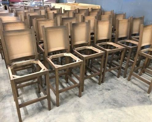 Custom Barstool Frames