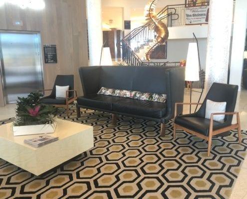 custom commercial sofa design