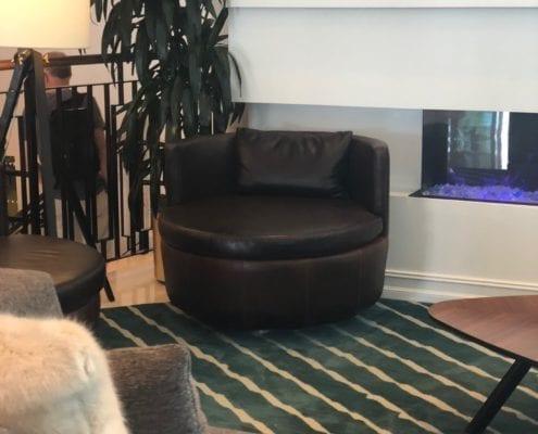 Custom hotel chair design