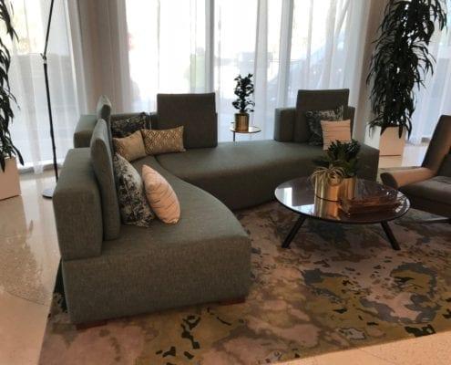 custom hotel sofa