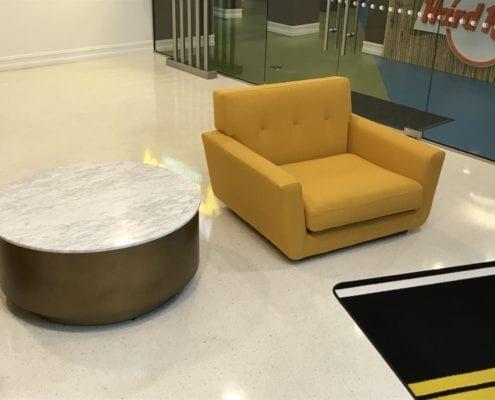 custom hotel lobby chair design