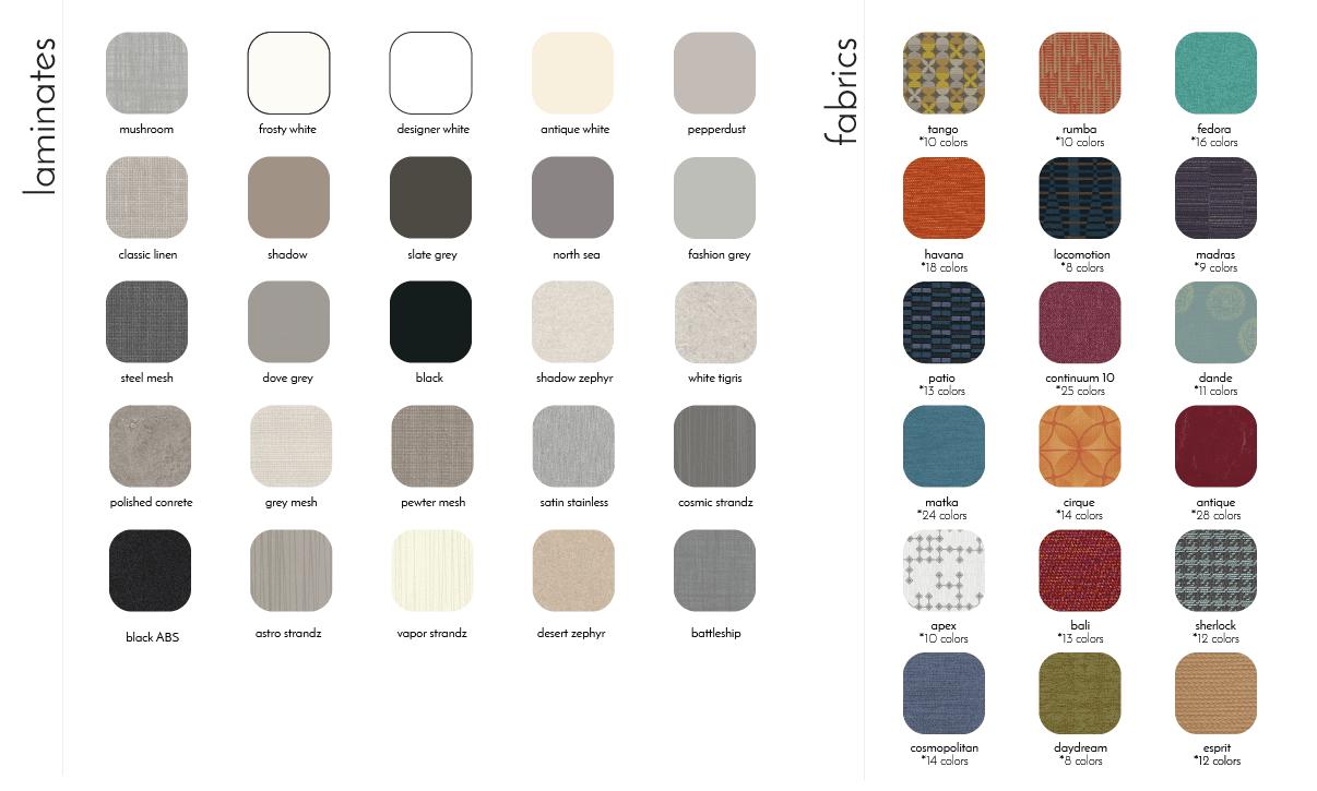 venue fabrics and laminates