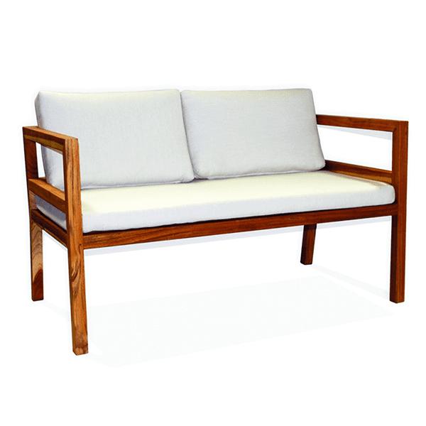 outdoor teak sofa