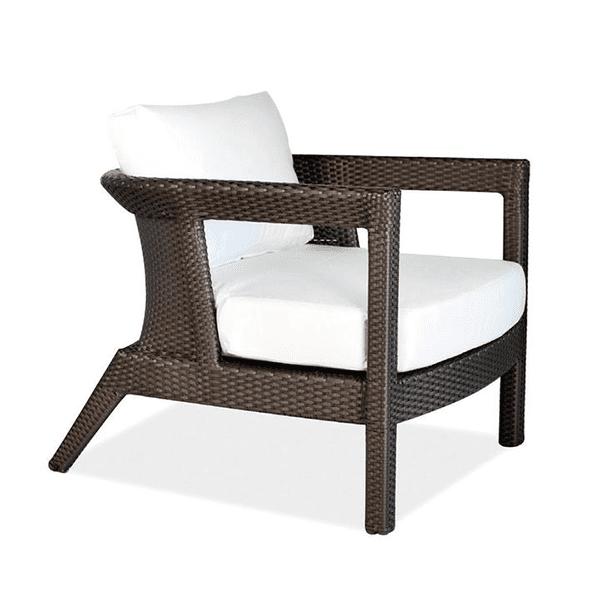 outdoor wicker patio chair