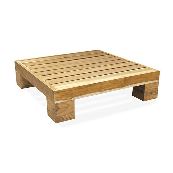 Outdoor coffee table teak wood