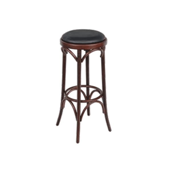 western style wooden barstool