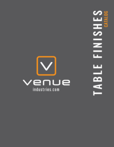 table finishes catalog venue industries