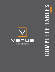 complete tables catalog venue industries