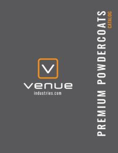 premium powdercoats catalog venue industries