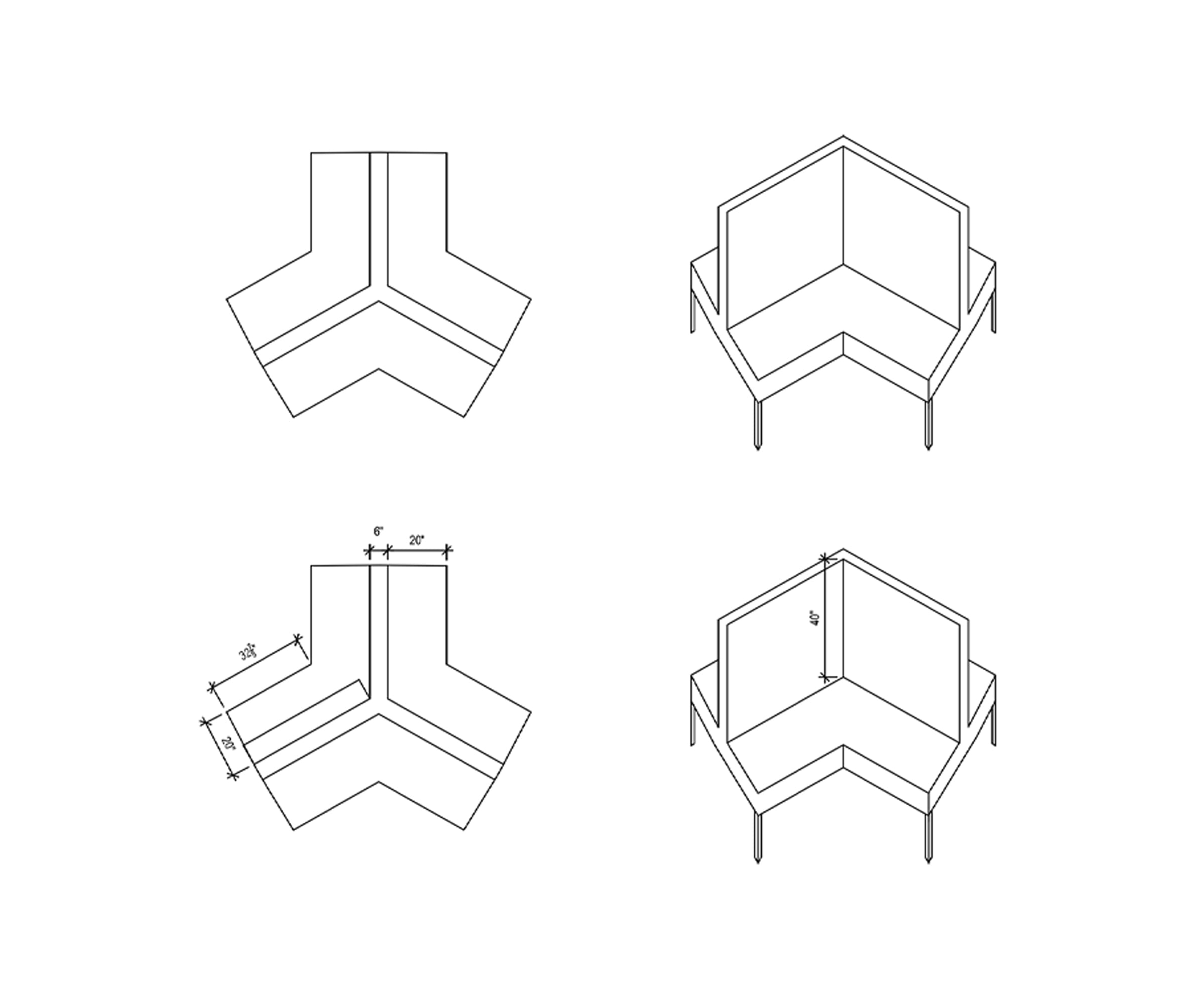 furniture line drawings case study