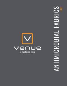 venue industries antimicrobial fabrics