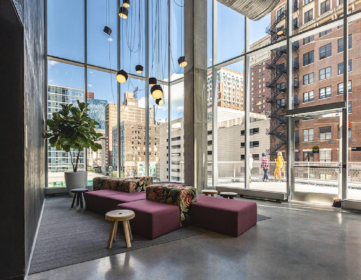 venue industries custom furniture for columbia college