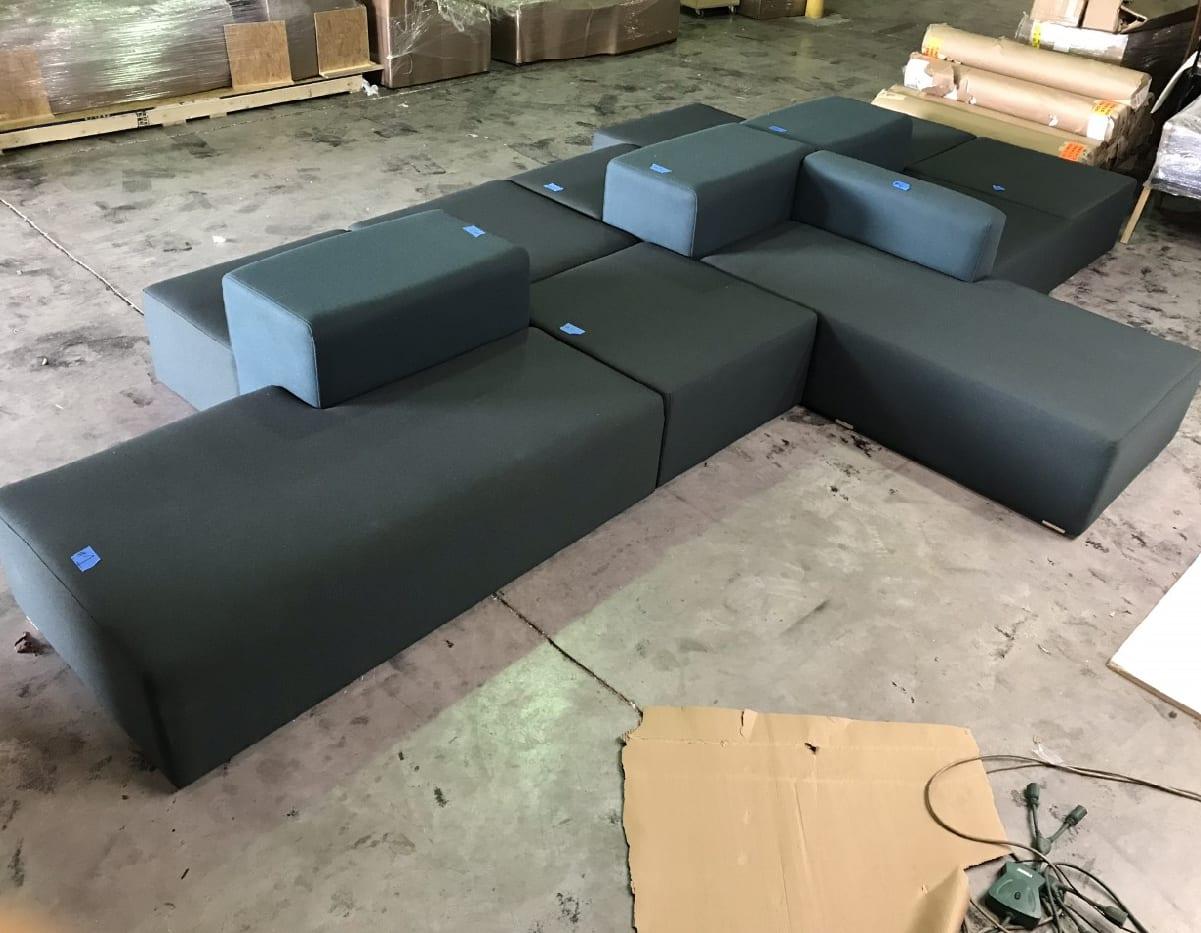 custom sofa grouping