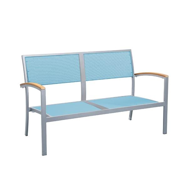 Outdoor sling seat loveseat