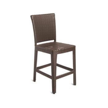 outdoor wicker counterstool