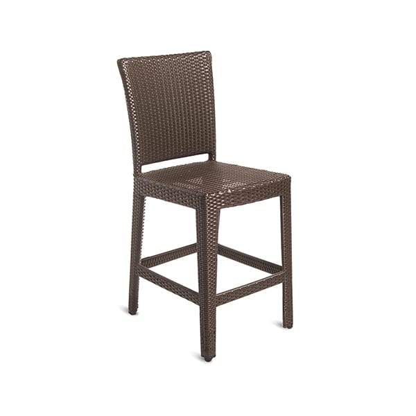 outdoor wicker counterstool