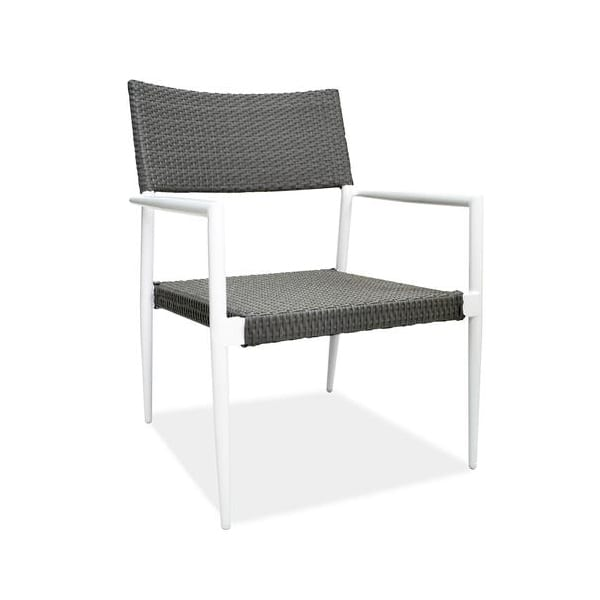 outdoor wicker aluminum armchair