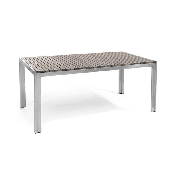 outdoor rectangular dining table