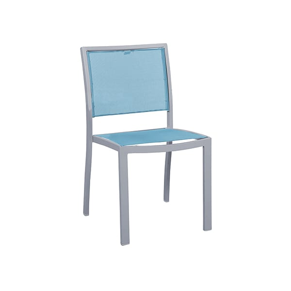 sling seat outdoor dining chair