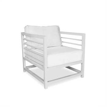 outdoor armchair chair with cushions for commercial use
