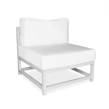outdoor chair with cushions for commercial use