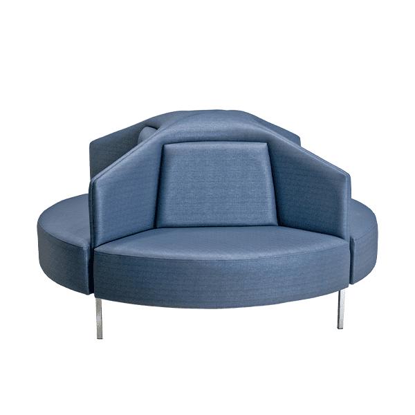 four sided circular sofa