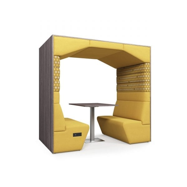 office pod with canopy roof
