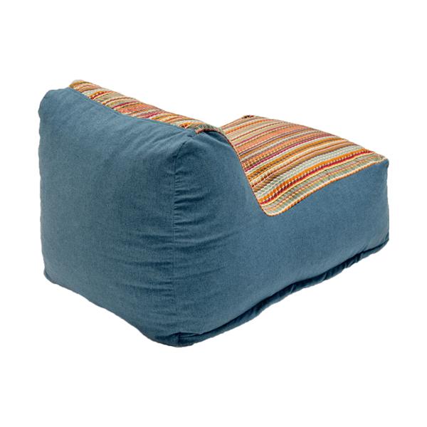 back of beanbag chair
